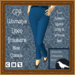 GPA Women's Trousers Linen - Blue Classic (ADD & touch)