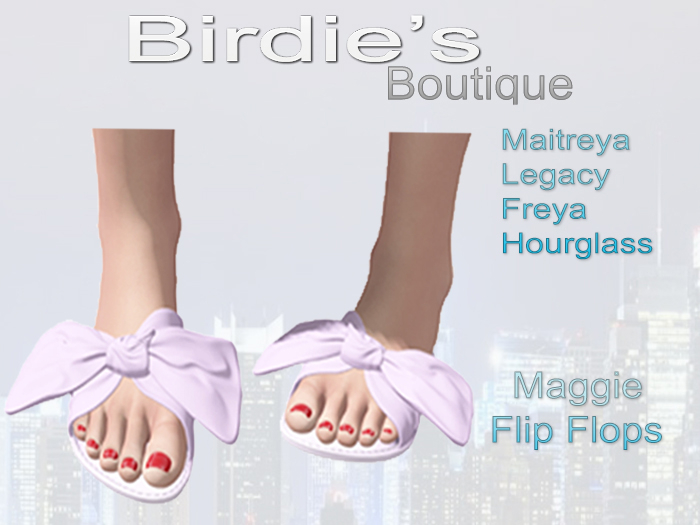 Birdie's Boutique - Maggie Flip Flops - Purple