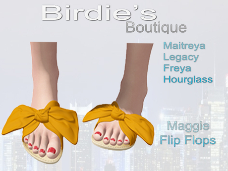 Birdie's Boutique - Maggie Flip Flops - Orange
