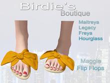 Birdie's Boutique - Maggie Flip Flops - Orange