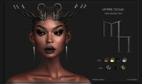 Vampire Crown by Madame Noir