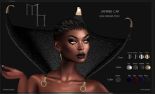 Vampire Cap by Madame Noir