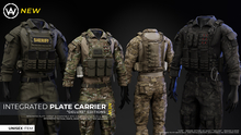 "[WAZ] Integrated Plate Carrier ""Deluxe"" (Plain Pack)"