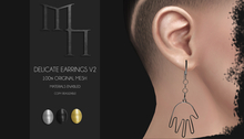 Delicate Earrings V2 DEMO by Madame Noir