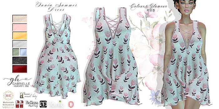 ♥ {GH} ♥ Onnia Pink Flowers Summer Dress