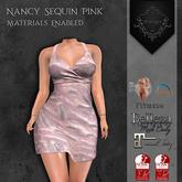 **Mistique** Nancy Sequin Pink{wear me and click to unpack)