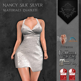 **Mistique** Nancy Silk Silver{wear me and click to unpack)