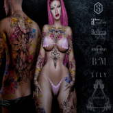 Leven Ink Tattoo - Lily