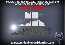 ~Full perm sculpted broken walls + Maps!