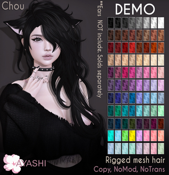 [^.^Ayashi^.^] Chou hair-DEMO
