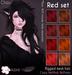 [^.^Ayashi^.^] Chou hair-Red set