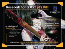 Baseball Bat - [Chris Two Designs]