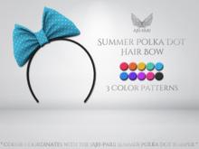 [Ari-Pari] Summer Polka Dot Hair Bow