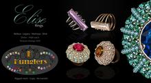 KUNGLERS - Elise rings pack