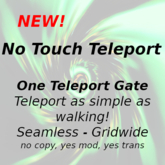No Touch Teleport - One gate - boxed