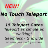 No Touch Teleport - 15 gates - boxed