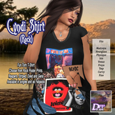 DFF Cyndi Shirt (Rock) #12