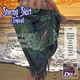DFF Stormy Skirt (Tropical) #4