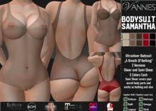 [VANNIES] Bodysuit Samantha (Applier HUD + BoM) Belleza, Legacy, Maitreya, Slink, Omega + Classic Avatar)