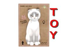 KittyCatS Box - 9T - F - Snowshoe - Lilac - Toy