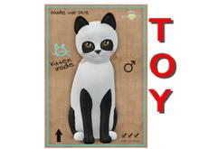 KittyCatS Box - Pandie - Ebony & Ivory - Toy