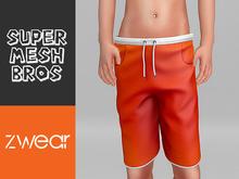 ZWEAR SMB Swim Shorts v2 - Orange