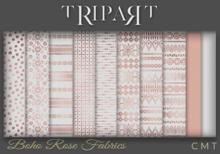 .::TRIPART::.Boho Rose Fabrics Set 1