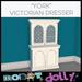 Robot Dolly - York Victorian Dresser