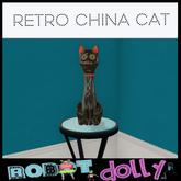 Robot Dolly - Retro China Cat