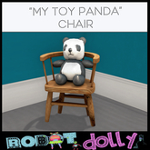 Robot Dolly - My Toy Panda Chair