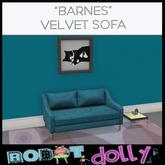 Robot Dolly - Barnes Velvet Sofa MP