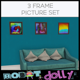 Robot Dolly - 3 frame picture set