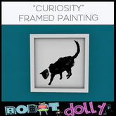 Robot Dolly - Curiosity - Framed Painting MP