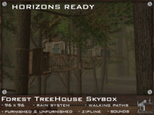 FaceDesk - Forest Treehouse Skybox HORIZONS COMPATIBLE