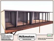 (Milk Motion) Concrete house
