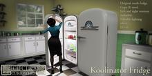 Eclectica Curiosities-50's Koolinator Fridge