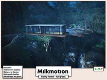 (Milk Motion) Rainy forest - full pack