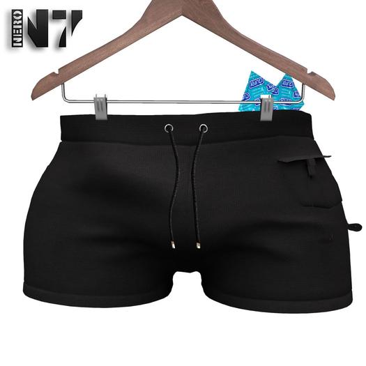 Nero - Summer Shorts - Black