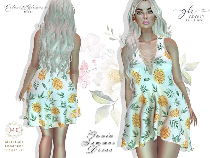 ♥ {GH} ♥ Onnia Corn Flower Group Gift Summer Dress