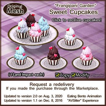 *FG* Sweet Cupcake Set