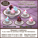 *FG* Sweet Cupcake Set