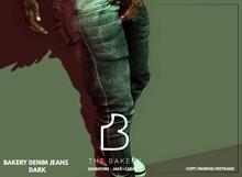 -TB- Bakery Denim Jeans - DARK