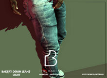 -TB- Bakery Denim Jeans - LIGHT