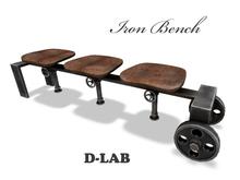 D-LAB Iron Bench