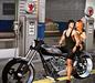 ..::Chloe Poses::.. - Biker Couple 2