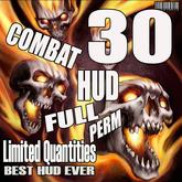 30 COMBAT HUD EXTRA FULL PERM