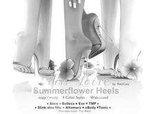 DEMOs .: Miss Loire :. Summerflower Heels (add to unpack)
