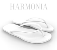* Harmonia White Flip Flops Maitreya STAR Gianni Kupra Legacy