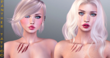 PANTHER TATTOO-Scar Chest-BoM [ Bakes on Mesh ] & Appliers Omega Maitreya Belleza