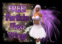 MG - FREE Particle Flexi Wings w/touch Script Activation